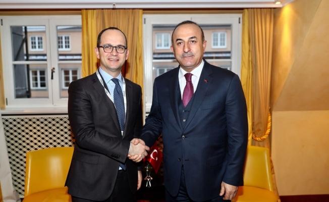 Bakan Çavuşoğlu, Arnavut mevkidaşı ile görüştü