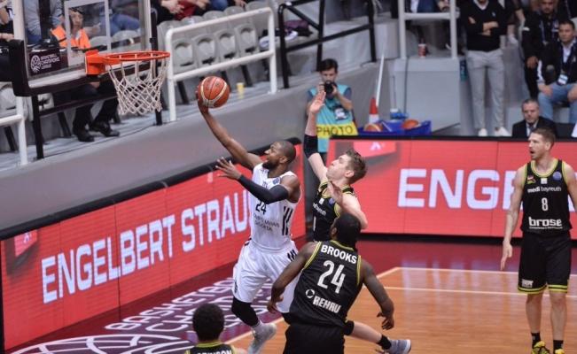 Beşiktaş turnuvaya veda etti