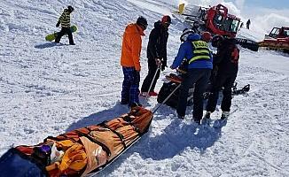 Arıza yapan telesiyej yolcuları fırlattı: 10 yaralı