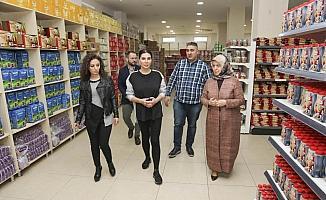 Ebru Yaşar'dan anlamlı ziyaret
