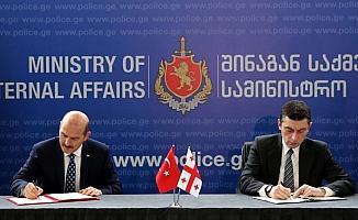 İçişleri Bakanı Soylu Gürcistan'da