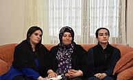 Bakan Sarıeroğlu, gaziyi ve şehit ailesini ziyaret etti