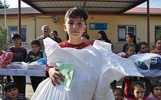 İlkokul öğrencisinden Mehmetçiğe duygulandıran...