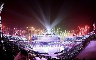 PyengChong 2018 Kış Olimpiyatları açılış seremonisi...