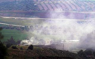 Afrin ve çevresindeki YPG hedefleri top atışına...