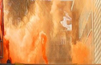 Almanya'da terör örgütü yandaşları SDP'yi bastı
