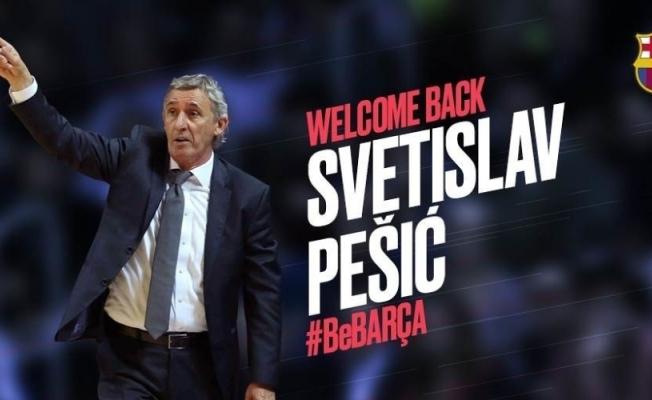 Barcelona Svetislav Pesic'e emanet