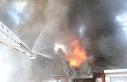 Mobilya atölyesindeki yangın kontrol altına alındı