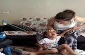 6 yaşındaki çocuğa öz anne şiddeti