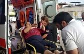 Oksijen tüpü patladı, engelli kız ve annesi yaralandı