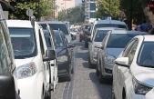 Çanakkale'de de 5 kilometrelik araç kuyruğu oluştu