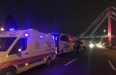 Tır 2 yolcu otobüsüne çarptı: 1'i ağır 8 yaralı