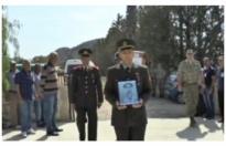 Kayıp şehit 55 yıl sonra defnedildi