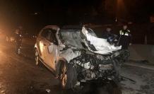 Cip, yol temizleme aracına çarptı: 3 ölü