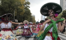 """Meksika'da """"Ölüler Günü"""" Festivalinde renkli görüntüler"""