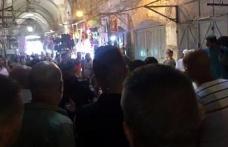 Yahudi fanatikler Filistinli esnafa saldırdı