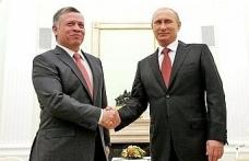 Putin, Ürdün Kralı ile Suriye'yi konuştu