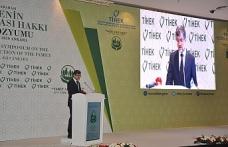 TİHEK  Başkanı Sayın Süleyman Arslan'ın Uluslararası Ailenin Korunması Hakkı  Sempozyum açılış konuşması