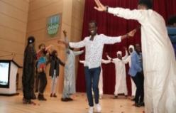 Çadlı öğrenciler Ankara havası oynadı