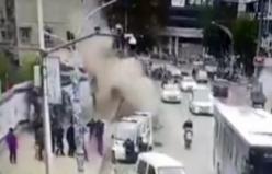 Kanalizasyonda patlama: 1 ölü, 5 yaralı