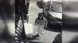 Çocuğunu çöpe bırakan vicdansız anne kamerada