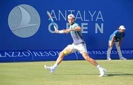Antalya Open'da günün sonuçları
