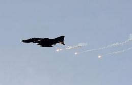 Irak, DEAŞ'ın Suriye'deki mevzilerini bombaladı