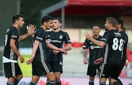 Beşiktaş hazırlık maçında berabere kaldı