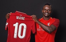 Liverpool'da 10 numara 'Mane'