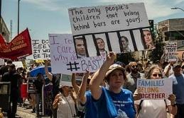 Trump'ın göçmen karşıtı politikaları protesto edildi