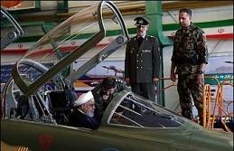 İran yerli savaş uçağı Kevser'i tanıttı