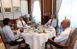 """""""Türkiye-Katar işbirliğini çok daha ileriye..."""