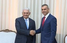 Yıldırım, KKTC Cumhuriyet Meclisi Başkanı Uluçay ile görüştü