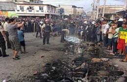 Biri kadın 3 kişi yakılarak öldürüldü