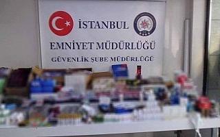 İstanbul'da sahte ilaç operasyonu: 205 bin 396...