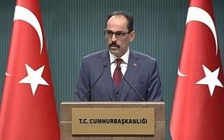 Cumhurbaşkanlığı Sözcüsü Kalın'dan Afrin...