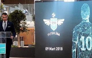 Fikret Orman FutbolİGA turnuvasının kura çekimine...