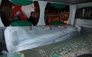 Pilot Melike Kuvvet'in cenazesi Konya'ya getirildi