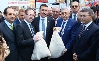 Türkiye'nin 81 ilinden Afrin'e yardım tırları...