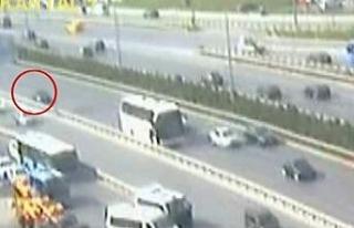 4 kişinin hayatını kaybettiği feci kaza kamerada
