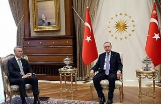 Cumhurbaşkanı Erdoğan ile Stoltenberg Suriye'yi...