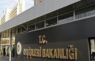 Dışişleri Bakanlığından AB'nin Türkiye raporuna...
