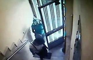 Hırsızların kapıyı açma yöntemi pes dedirtti