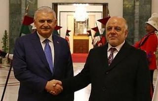 Başbakan Yıldırım, İbadi ile Irak seçimlerini...