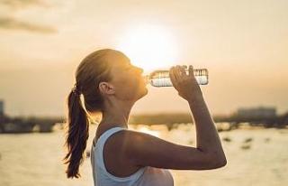 Su ihtiyacımız kullandığımız enerji miktarına...
