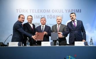 Türk Telekom ve MEB işbirliğinde 5 ilde okul yapılacak