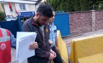 O taksi şoförü tutuklandı