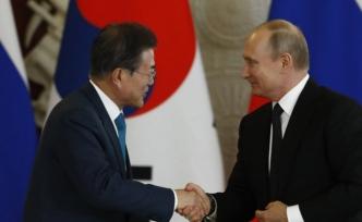 Putin, Güney Kore lideri Moon'u ağırladı