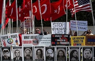 ABD'de Türklerden protesto