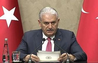Başbakan'dan 'deprem' açıklaması
